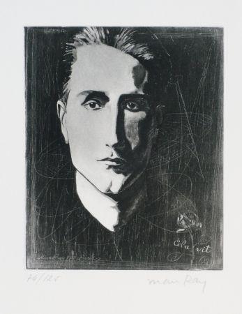 Eau-Forte Et Aquatinte Ray - Portrait de Marcel Duchamp