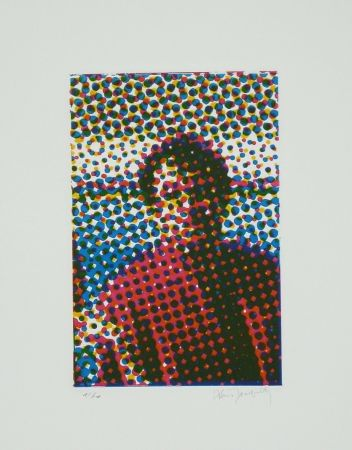 Eau-Forte Et Aquatinte Jacquet - Portrait de Mario Schifano
