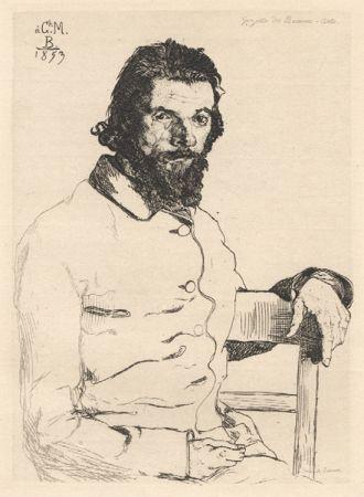Aucune Technique Bracquemond - Portrait de Meryon