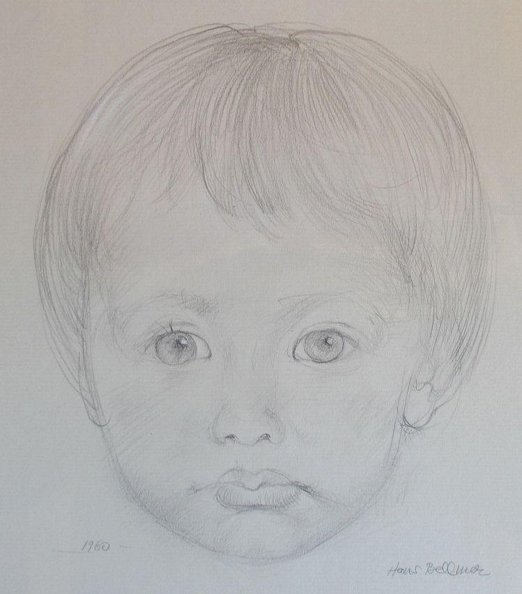 Aucune Technique Bellmer - Portrait de Sandrine d'Halluin