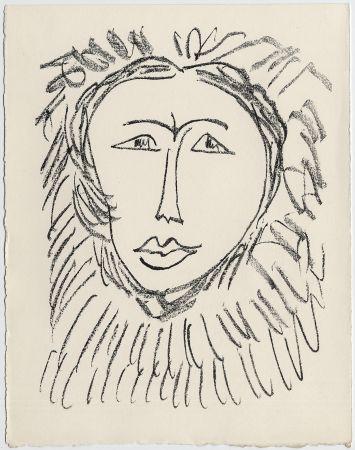Lithographie Matisse - Portrait d'homme esquimau n° 3. 1947 (Pour Une Fête en Cimmérie)