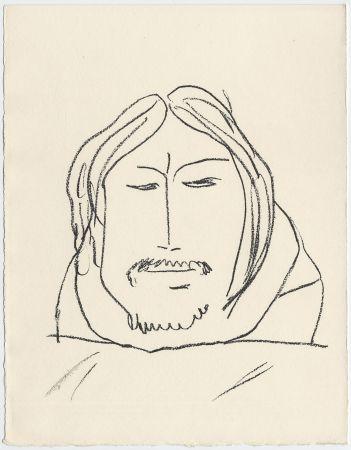Lithographie Matisse - Portrait d'homme esquimau n° 6. 1947 (Pour Une Fête en Cimmérie)