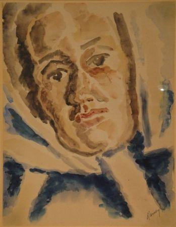 Monotype Ramey - Portrait masculin