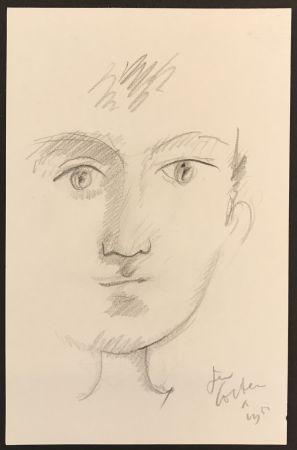 Aucune Technique Cocteau - Portrait of A Boy