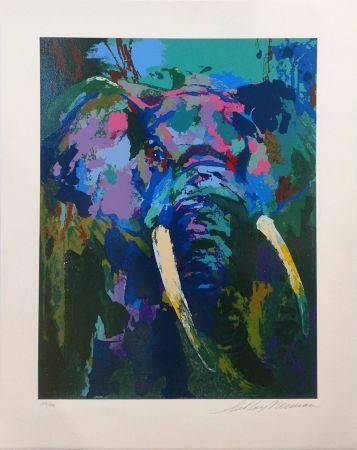 Sérigraphie Neiman - PORTRAIT OF AN ELEPHANT