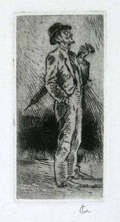 Gravure Conconi - Portrait of Giuseppe Brentano