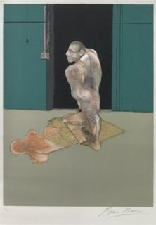 Lithographie Bacon - Portrait Of John Edwards