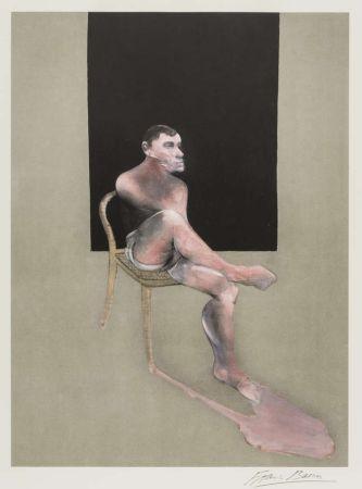 Lithographie Bacon - Portrait Of John Edwards 1988