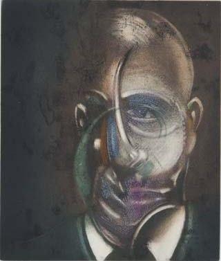 Eau-Forte Et Aquatinte Bacon - Portrait of Michel Leiris