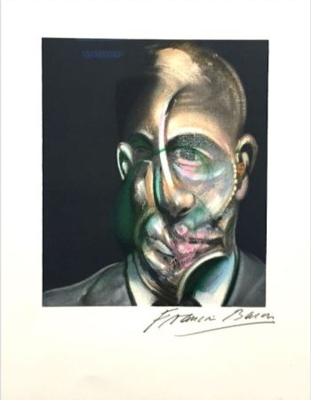 Lithographie Bacon - Portrait of Michel Leiris