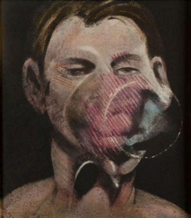 Eau-Forte Et Aquatinte Bacon - Portrait of Peter Beard I
