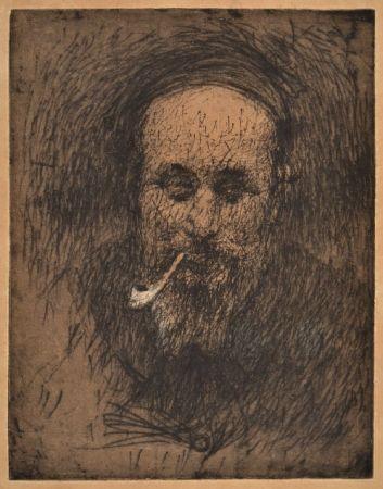 Relief Bucci - PORTRAIT OF THE PAINTER PIROLA ante 1907