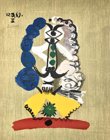 Lithographie Picasso - Portraits Imaginaires 12.3.69 Ii