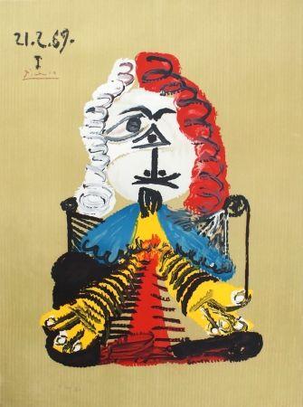 Lithographie Picasso - Portraits Imaginaires 21.2.69 I