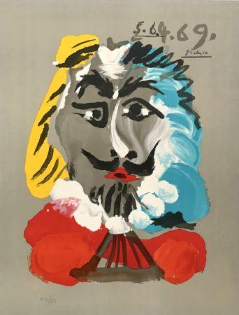 Lithographie Picasso - Portraits Imaginaires 5.6.4.69