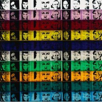 Sérigraphie Warhol - Portraits of the Artists