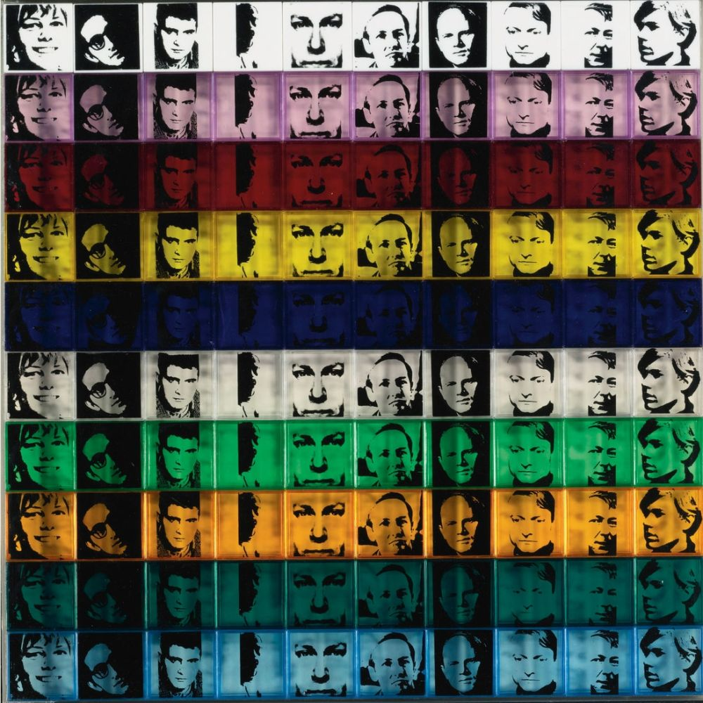 Sérigraphie Warhol - Portraits of the Artists (FS II.17)