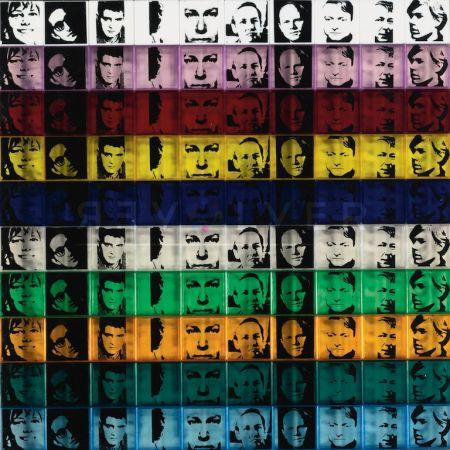 Sérigraphie Warhol - Portraits of the Artists (FS II.17)