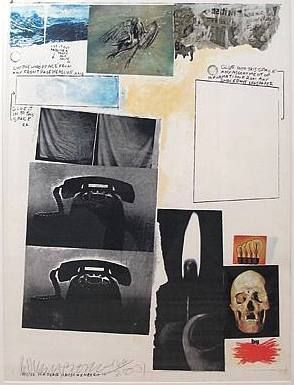 Sérigraphie Rauschenberg - Poster for Peace