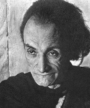 Lithographie Hucleux - Potrait d'Antonin Artaud