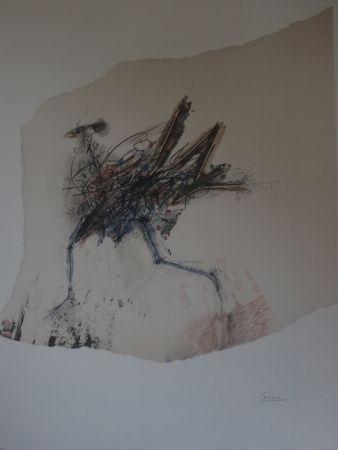 Lithographie Cesar - Poulette