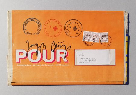 Sérigraphie Beuys - POUR