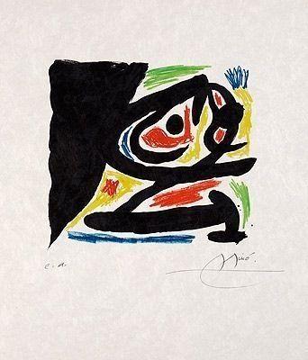 Lithographie Miró - Pour Berggruen