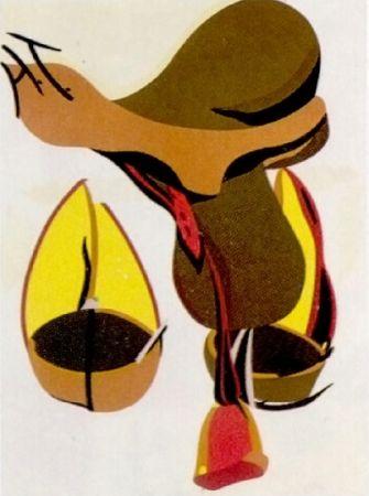 Lithographie Telemaque - Pour Joan Prats