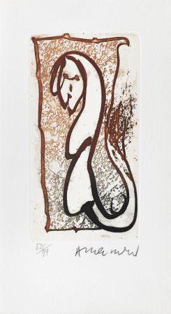 Gravure Alechinsky - Pour Joyce Mansour