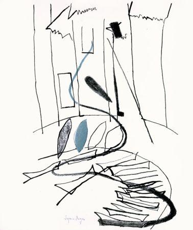 Lithographie Roger - Pour Kahnweiler