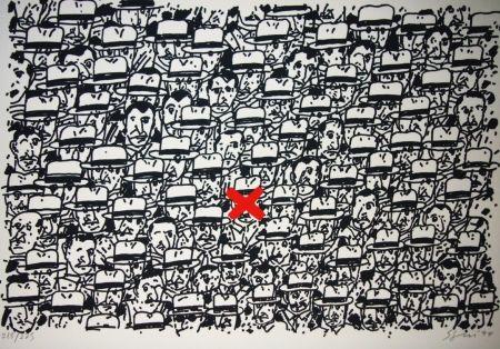 Lithographie Segui - Pour le peuple africain