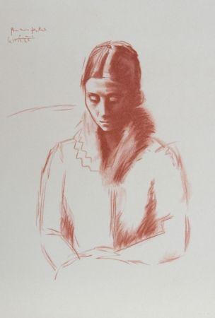 Lithographie Picasso - Pour mon Fils Raul