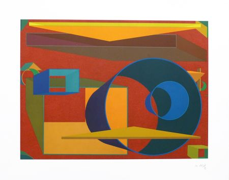 Lithographie Held - Pradorama