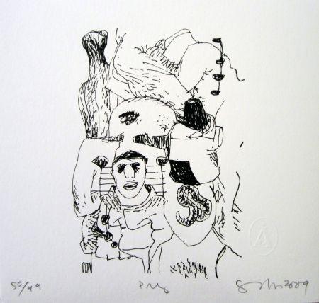 Sérigraphie Gronk - Pri