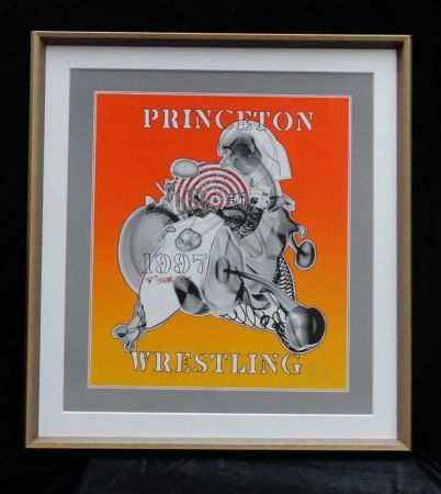 Sérigraphie Stella - Princeton Wrestling
