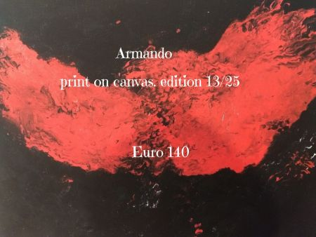 Lithographie Armando - Print on cavas