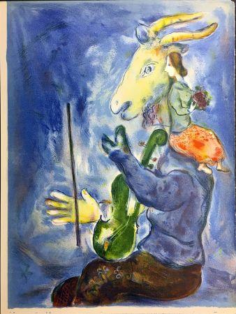 Lithographie Chagall - PRINTEMPS (1938)