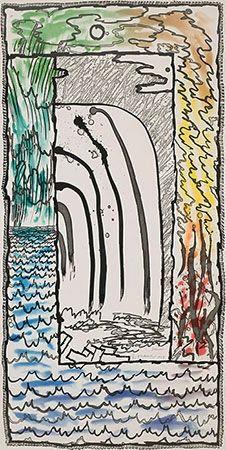 Gravure Alechinsky - Prisma