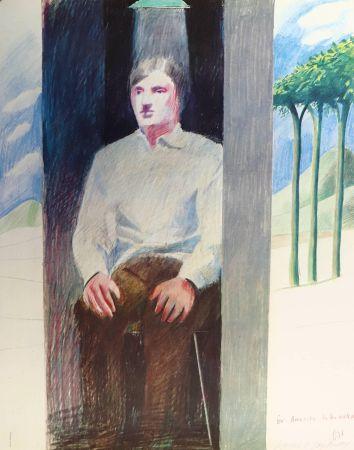 Lithographie Hockney - Prisoner