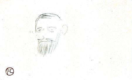 Aucune Technique Toulouse-Lautrec - Procès Arton — Tête de monsieur Jacques Saint-Cère