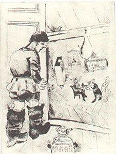 Eau-Forte Chagall - PROCHKA