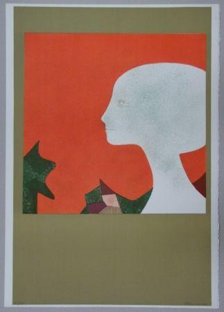 Lithographie Minaux - Profil