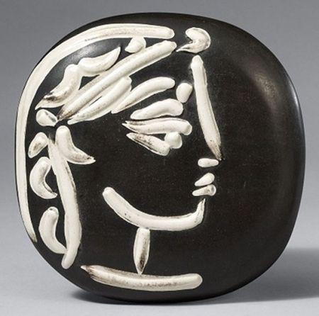 Céramique Picasso - Profil de Jacqueline (Jacqueline's Profile)