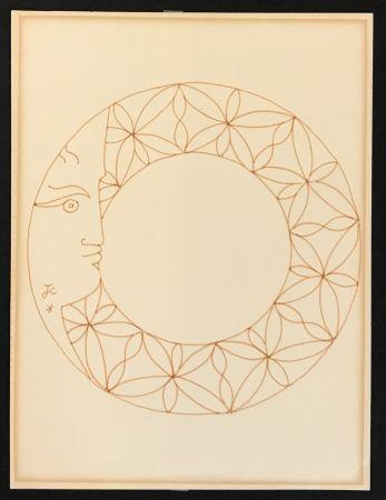 Aucune Technique Cocteau - Profile in Circle
