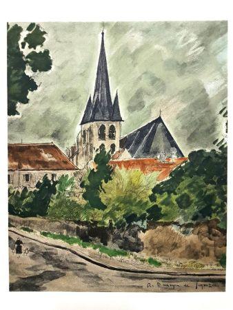 Lithographie De Segonzac - Province