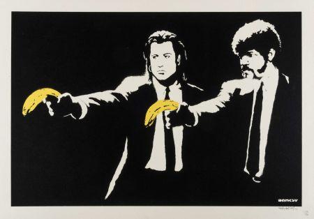 Sérigraphie Banksy - Pulp fiction