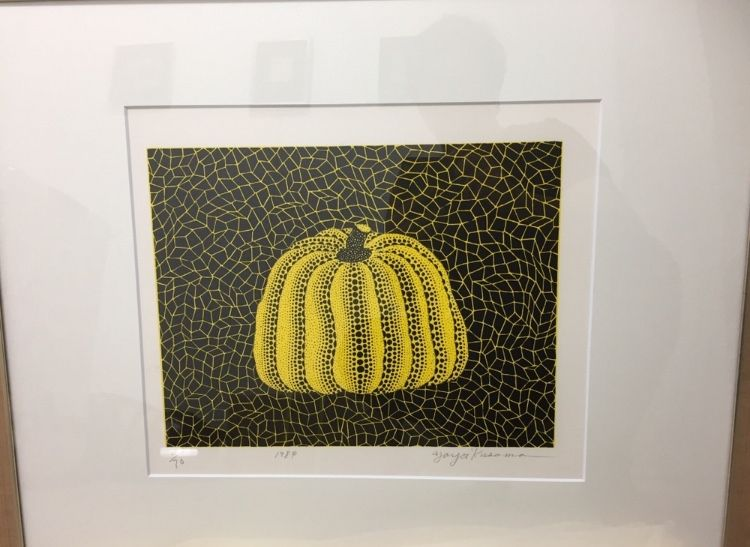 Lithographie Kusama - Pumpkin