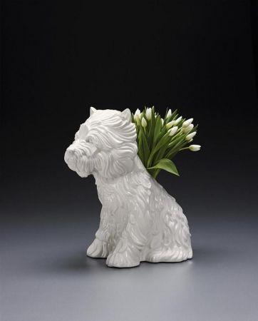 Aucune Technique Koons - Puppy Vase