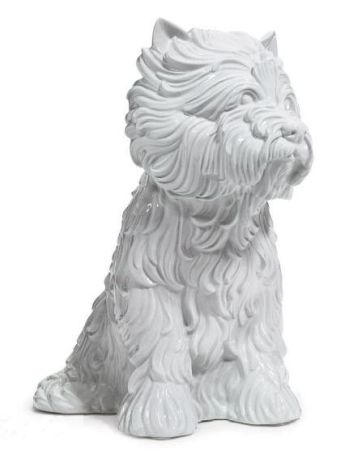 Multiple Koons - Puppy (vase in the form of West Highland Terrier)