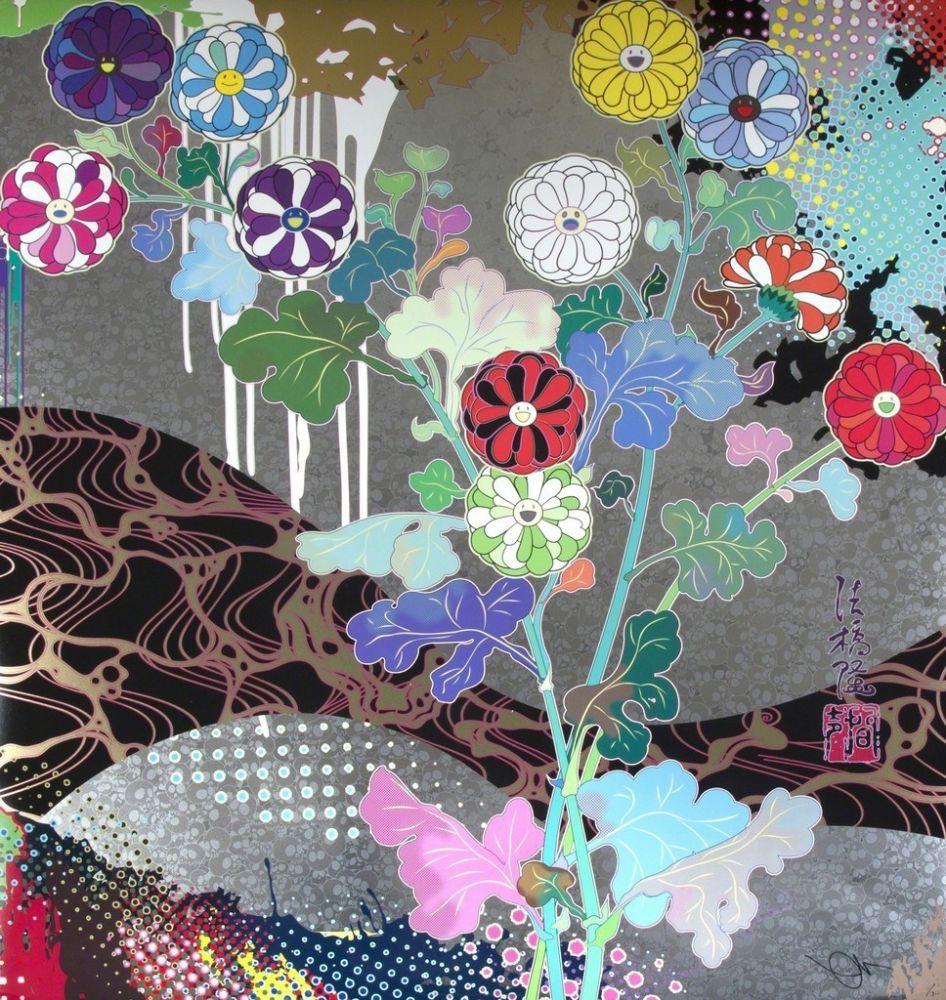 Lithographie Murakami - Pure white